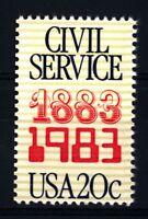 USA - STATI UNITI - 1983 - Centenario del Servizio Civile Federale