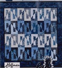 """Pacific Reflections - pieced quilt PATTERN for 2.5"""" strips - Cindi McCracken"""