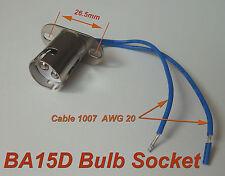 10pcs BA15D Bayonet Light Bulb Brake Lights Socket ( ba15d )