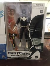 Power Rangers Lightning Collection Black Ranger Mighty Morphin Action Figure ?