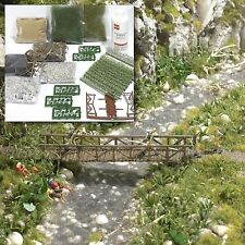BUSCH 6046 H0, Gewässergestaltung, Bausatz, Neu