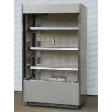 Barker Cf S Sc Refrigerator Open Case Withsliding Doors Used Great Condition