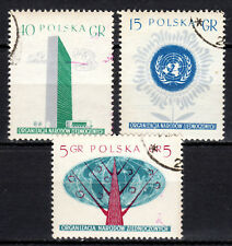 Poland - 1957 United Nations - Mi. 998-00 VFU