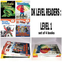 DK READERS COLLECTION: Level 1 Pre-Level & Level 1 Children Beginner Reader Book