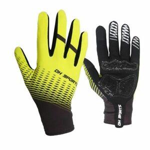 Cycling Gloves 1Pair Full Finger Socks Men Women Anti-slip Sports Bike Mittens