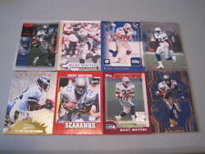 X) Lot of 125 RICKY WATTERS FOOTBALL CARDS RC HUGE PREMIUM BRANDS 49ers SEAHAWKS