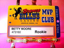 Bronco Billy'S Cripple Creek, Colorado Mvp Club Rookie #473160