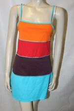 Ladies Vibrant Multicoloured Lycra Dress by Next Size 12 Summer Frock