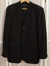 "JOHN W. NORDSTROM Men's Black Pure Cashmere Jacket 43"" Chest Blazer Sports Coat"