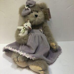 "Bearington Bears ""Minnie And Mouse"" 14"" Plush Bear #1491 Vintage Limited"