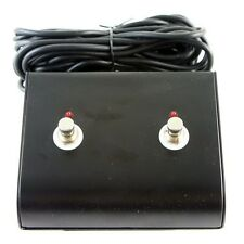 Marshall Style Two 2 Button Replacement Footswitch LED