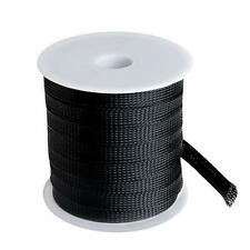 New listing 100 Feet -1/2 inch Flexible Expandable Braided Cable Sleeve, Wire Loom Sleeving