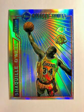 """1996 Topps Mystery Finest Shaquille O'Neal """"Refractor"""" M12"""