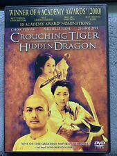 Crouching Tiger, Hidden Dragon (Dvd, 2000) Winner 4 Academy Awards
