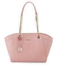 NWT Furla Julia Winter Rose Medium Leather Tote Bag Handbag
