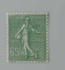 France année 1927 1931 234 neuf trace de charnière * type semeuse lignée 2
