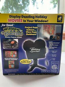 Star Shower Window Wonderland Window Projector System 12 Holiday Movies