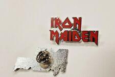 Iron Maiden Rock Band Enamel Pin Badge