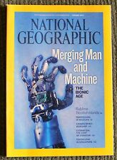 National Geographic JAN 2010 NEW Bionic Age, Scottish Islands Clownfish Wildlife