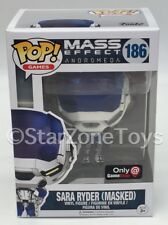 Mass Effect Andromeda Sara Ryder enmascarados GameStop Pop Exclusivo De Vinilo