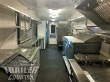 New 2021 8.5X32 Enclosed Mobile Concession Kitchen Food Vending Trailer 1/2 Bath