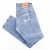 Vintage LEVI'S 501 Blue Denim Regular Straight Jeans Mens W31 L30