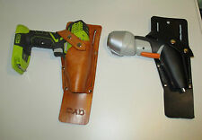 Personalized Power Drill Holster For Tool Belt