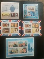 GB SMILERS Sir Winston Churchill 23 stamp sheets in total