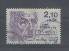 FRANCE TIMBRE OBLITERE N° 2360 PERSONNAGES CELEBRES 1985 FRANCOIS MAURIAC o4