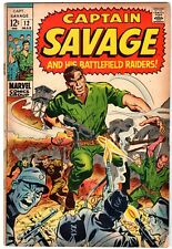 Captain Savage and His Battlefield Raiders #12, Fine Condition