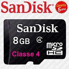 Carte Mémoire SANDISK Micro SDHC SDXC ULTRA 4 8 16 32 64 GO GB GIGA Classe 4 10