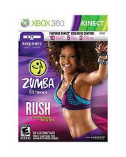 Zumba Fitness Rush (Microsoft Xbox 360, 2012)