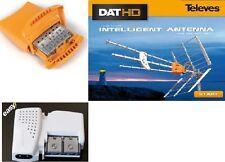 IMPIANTO ANTENNA TV TELEVES DAT45LTE 149902 AMPLIFICATORE 5360 ALIMENTATORE 5796