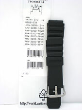 Genuine Casio Replacement Band AMW320D AMW320R DIVERS AMW320 Heavy Duty 22mm