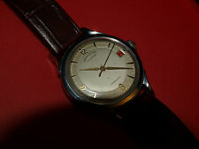 HAMILTON Illinois rare stainless automatic from 1940's serviced very nearly NOS!