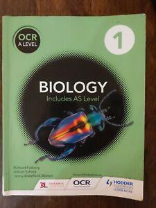 OCR A Level Biology 1 Includes AS Level, Fosbery Schmit, Wakefield-Warren