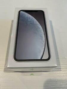 New Apple iPhone XR 64GB (GSM+CDMA) Verizon Unlocked White
