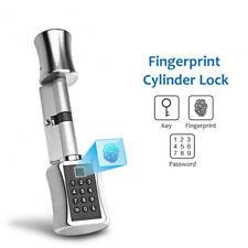 Smart Cylinder Lock With TTLock APP Keyless Electronic Fingerprint Door Lock
