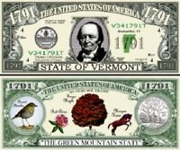 Arizona State Million Dollar Bill Fake Play Funny Money Novelty Note+FREE SLEEVE