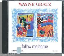 Wayne Gratz - Follow Me Home - New 1993 Narada New Age Piano CD!
