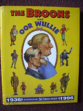 THE BROONS / OOR WULLIE ANNUAL 60 YEARS IN SUNDAY POST 1936 1996 HB DJ VGC