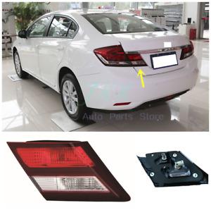 For Honda Civic Sedan 2013 14 2015 Driver LEFT Inner Side Tail Light Brake Lamp
