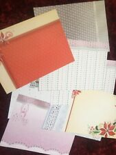 Christmas card making inserts x 8