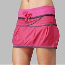 Lululemon Run Personal Best Skirt Skort in Pink Size 6