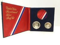 1976-S Silver Proof Set United States Bicentennial 2 Coins