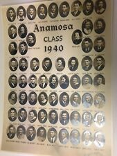 Vintage ANAMOSA IOWA CLASS PHOTO 1940