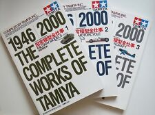 ALL Visual Version of The Complete Works of Tamiya 1946-2000 #1 #2 #3 Books
