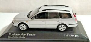 PAUL'S MODEL ART MINICHAMPS 1:43 FORD MONDEO TURNIER - METALLIC SILVER - CASED
