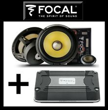 "FOCAL FD 2.350 AMP + ES 165KX2 2-WAY 6,5"" = BEST STEREO KIT, BRAND NEW WARRANTY"