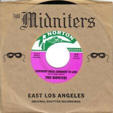 "THEE MIDNITERS  Everybody Needs Somebody To Love NEW 7"" Chicano Whittier Norton"